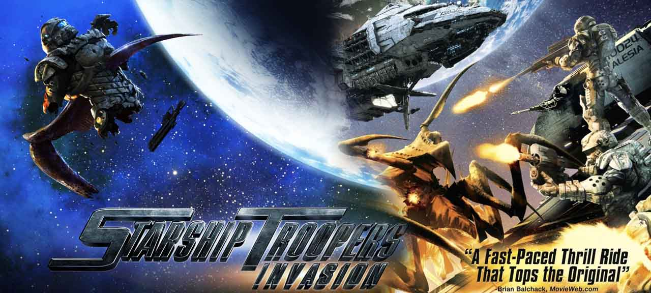 Starship Troopers Invasion (2012)