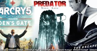 Predator Dark Ages (2015), The Escape (2016), Far Cry 5: Inside Eden's Gate (2018) Short Films [සිංහල උපසිරසි සමඟ]