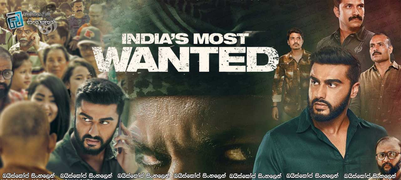 India's Most Wanted (2019) with Sinhala Subtitles | දේශය