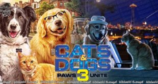 Cats & Dogs 3: Paws Unite! (2020) Sinhala Subtitles | පූසන්ගෙයි බල්ලන්ගෙයි සාමය [සිංහල උපසිරසි සමඟ]
