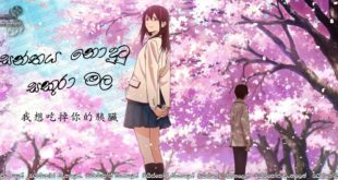 I Want to Eat Your Pancreas (2018) aka Kimi no suizô o tabetai Sinhala Subtitles | වසන්තය නොදුටු සකුරා… [සිංහල උපසිරසි සමඟ]